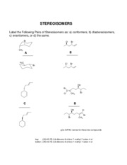 stereoisomers_ans