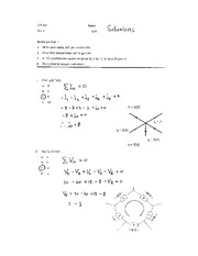 Solutions for TEST 1-1