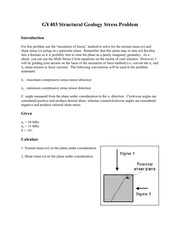 Resolution of Vectors Problems