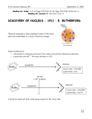 2-Discovery of Nucleus