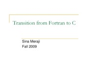 (14) Fortran To C (Sina)