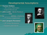 Ch. 2-3 Developmental Theories Lecture