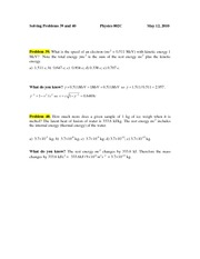 PROBLEM 39 & 40 May 14 2010