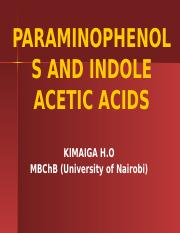 56. PARAMINOPHENOLS AND INDOLE ACETIC ACIDS.pptx