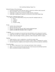 Leadership Challenge Ch 2 Notes.docx