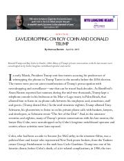 Eavesdropping on Roy Cohn and Donald Trump - The New Yorker.pdf