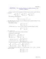 Supplementary Problems 1