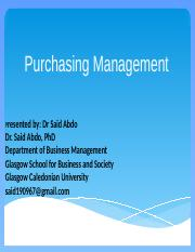 Purchase-management-First-Lecture