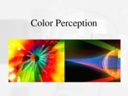 Color Vision_For Oct 1
