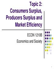 Topic 2. Consumers Surplus, Producers Surplus and Market Efficiency.pdf