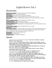 ENGL 202  American Literature  Review Test 1
