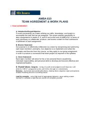 AMBA 610 - Team Agreement and Work Plan.docx