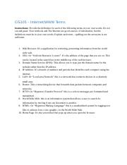 WWW Terms Chapter 3.docx