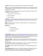 Financial Management Mid Term Exam Study Review[2]