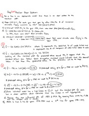 Ch3  and 4 Review Sheet Answers Part1