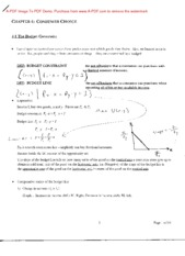 Econ 3070 Chapter 4 Notes
