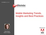 Class 26 Mobile Marketing from emarketer