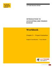 BUS5IAF Workbook Chapter 5
