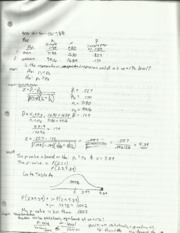 Statistics Z Value Notes