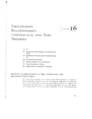 Twomey-Labor+and+Empl+Law-Ch16
