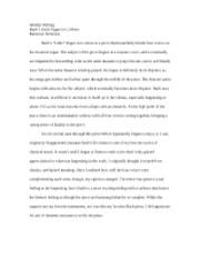 Critical essay twelfth night