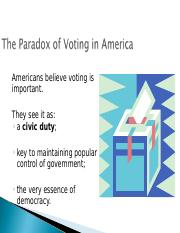 AmGov_Voting and Elections