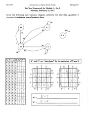 In Class Homework Solutions Module 3