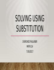 Solving Using Substitution.pptx