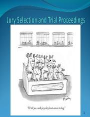 17JurySelection and Trial ProceedingsS--Fall2016