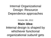Day+19-20+Internal+Design+-+Resource+Dependence+8-10+Oct+2012
