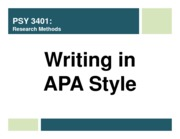 lecture 4 - writing APA style (updated)