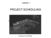 Ch. 7 PROJECT SCHEDULING