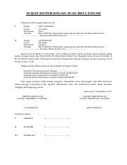 Surat Pernyataan Damai Kedua Belah Pihak Kecelakaan Bagi Contoh Surat