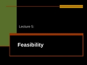 Lecture_5___Feasibility