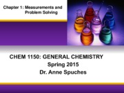 CHEM 1150 S15 Chapter 1 Complete
