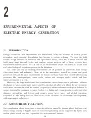 chapter 2ENVIRONMENTAL ASPECTS OF ELECTRIC ENERGY GENERATION.docx