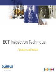 ECT Inspection Analysis.pps