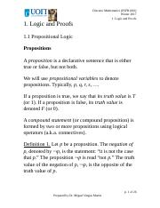 1-Logic and Proofs Annotated