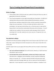 Tip to Creating Good PowerPoint Presentations.pdf