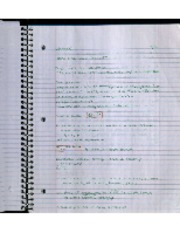 Lecture 9-8 Notes