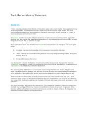 Bank Reconciliation Statemen.docx