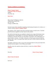 Sample Reassignment Letter 2