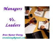 Managers Vs.Leaders - 45 Differences - Copy