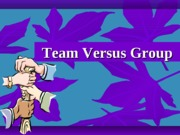 Group Vs Teams stages