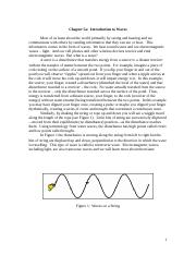 Chapter 5a--Introduction to Waves