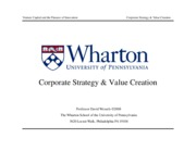 01 - Corporate Strategy and Valuation