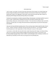 Creative writing how to be a leader essay.docx