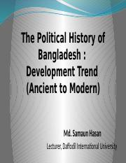 Lecture 4-5 Political History of Bangladesh.pptx