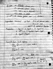 Notes on Limits