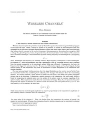 m0101-Wireless Channels
